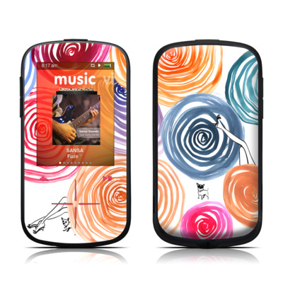 SanDisk Sansa Fuze Plus Skin - New Circle