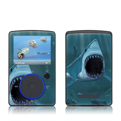 SanDisk Sansa Fuze Skin - Great White
