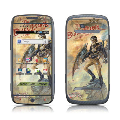Samsung Sidekick 4G Skin - The Black Baron