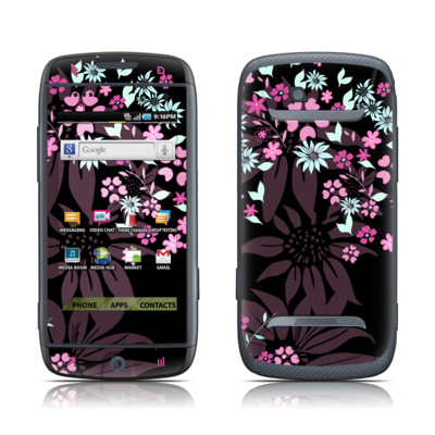 Samsung Sidekick 4G Skin - Dark Flowers