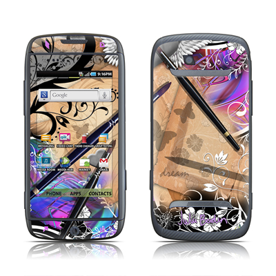 Samsung Sidekick 4G Skin - Dream Flowers