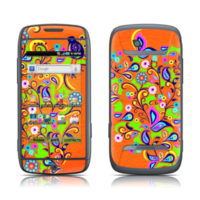 Samsung Sidekick 4G Skin - Orange Squirt