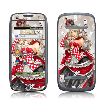 Samsung Sidekick 4G Skin - Queen Of Cards