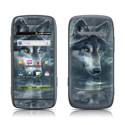 Samsung Sidekick 4G Skin - Wolf Reflection