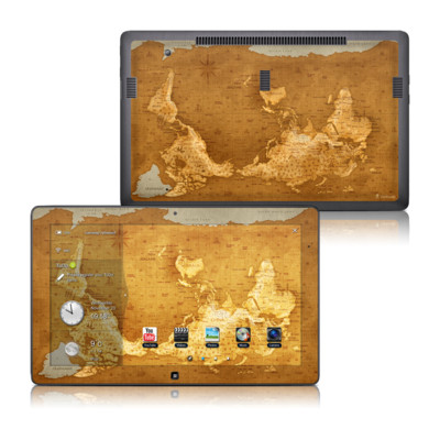 Samsung Series 7 11.6 Slate Skin - Upside Down Map