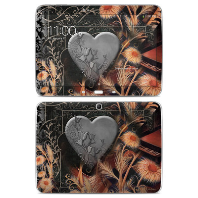 Samsung Galaxy Tab 3 10-1 Skin - Black Lace Flower