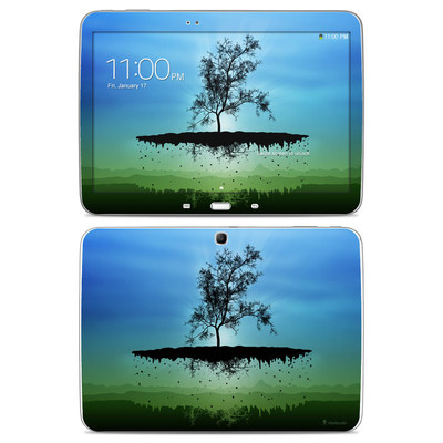 Samsung Galaxy Tab 3 10-1 Skin - Flying Tree Blue