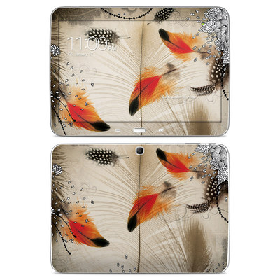 Samsung Galaxy Tab 3 10-1 Skin - Feather Dance