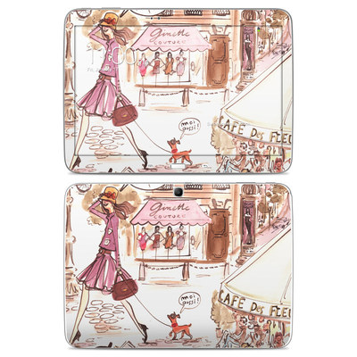 Samsung Galaxy Tab 3 10-1 Skin - Paris Makes Me Happy