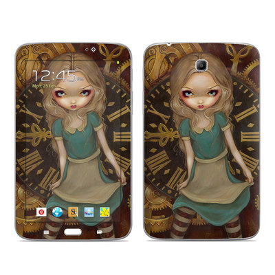 Samsung Galaxy Tab 3 7in Skin - Alice Clockwork