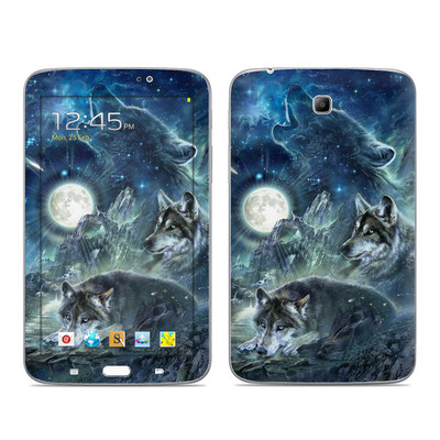Samsung Galaxy Tab 3 7in Skin - Bark At The Moon