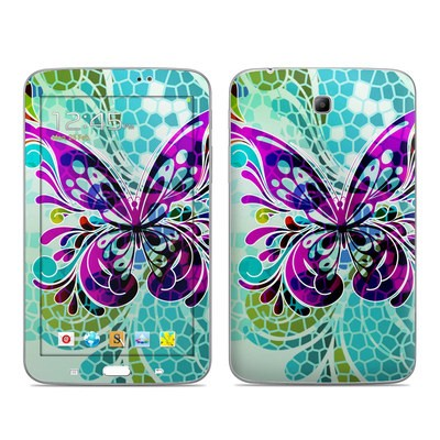 Samsung Galaxy Tab 3 7in Skin - Butterfly Glass