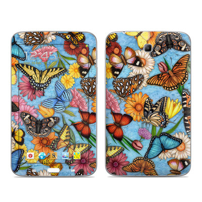Samsung Galaxy Tab 3 7in Skin - Butterfly Land
