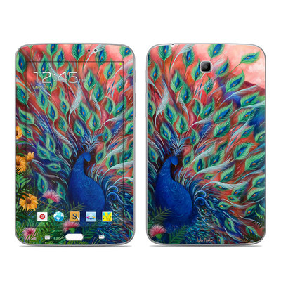 Samsung Galaxy Tab 3 7in Skin - Coral Peacock