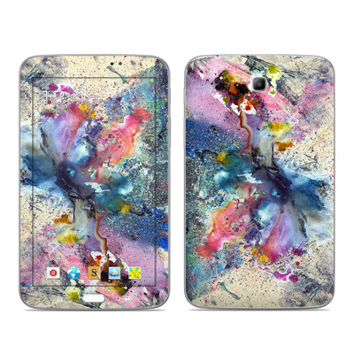 Samsung Galaxy Tab 3 7in Skin - Cosmic Flower