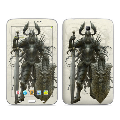 Samsung Galaxy Tab 3 7in Skin - Dark Knight
