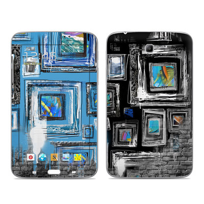 Samsung Galaxy Tab 3 7in Skin - Dripping Walls