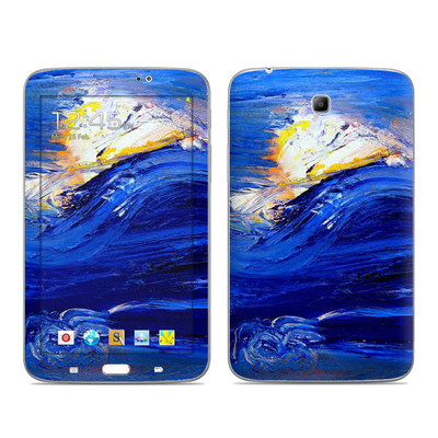 Samsung Galaxy Tab 3 7in Skin - Feeling Blue