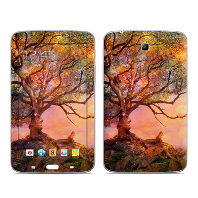 Samsung Galaxy Tab 3 7in Skin - Fox Sunset