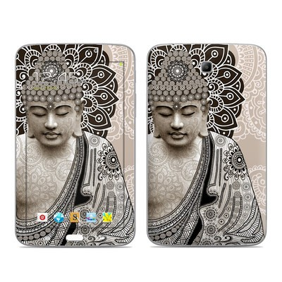 Samsung Galaxy Tab 3 7in Skin - Meditation Mehndi