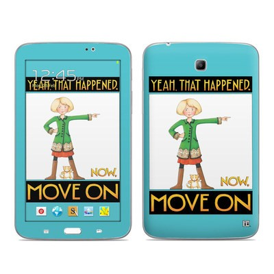 Samsung Galaxy Tab 3 7in Skin - Move On