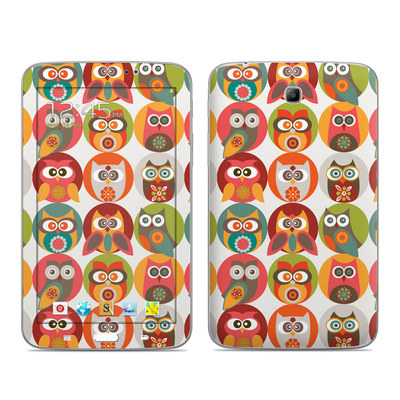 Samsung Galaxy Tab 3 7in Skin - Owls Family