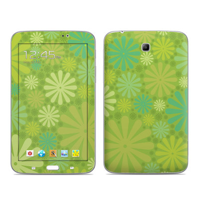 Samsung Galaxy Tab 3 7in Skin - Lime Punch