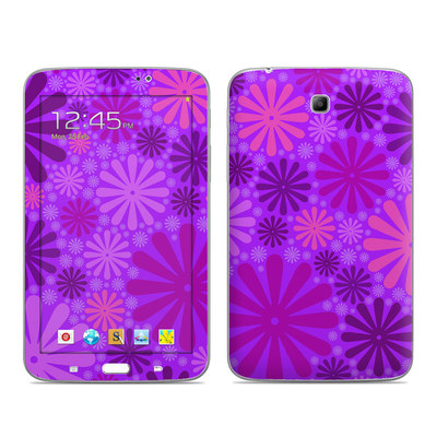 Samsung Galaxy Tab 3 7in Skin - Purple Punch
