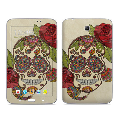 Samsung Galaxy Tab 3 7in Skin - Sugar Skull