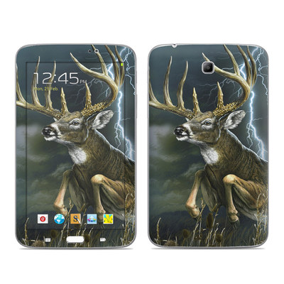 Samsung Galaxy Tab 3 7in Skin - Thunder Buck