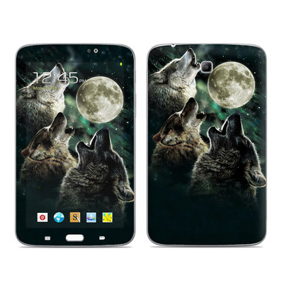 Samsung Galaxy Tab 3 7in Skin - Three Wolf Moon