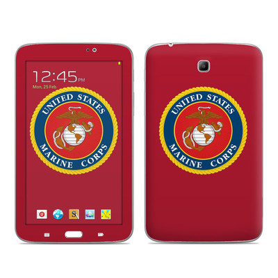 Samsung Galaxy Tab 3 7in Skin - USMC Red