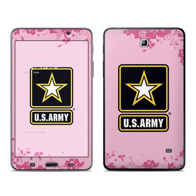 Samsung Galaxy Tab 4 7in Skin - Army Pink