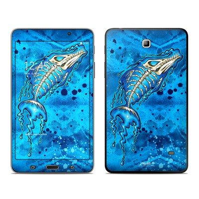 Samsung Galaxy Tab 4 7in Skin - Barracuda Bones