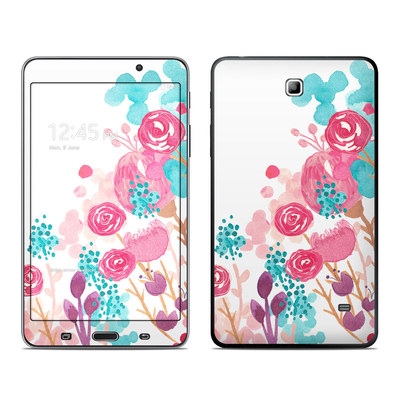 Samsung Galaxy Tab 4 7in Skin - Blush Blossoms