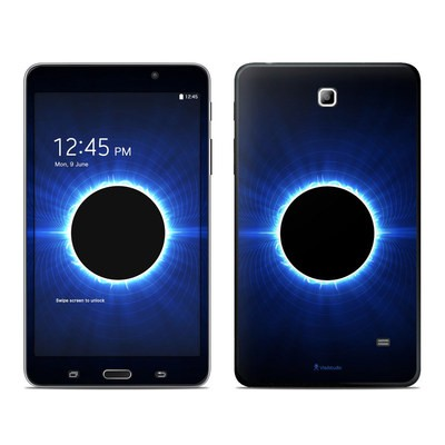Samsung Galaxy Tab 4 7in Skin - Blue Star Eclipse