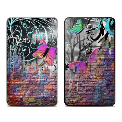 Samsung Galaxy Tab 4 7in Skin - Butterfly Wall