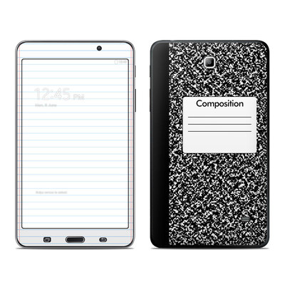 Samsung Galaxy Tab 4 7in Skin - Composition Notebook