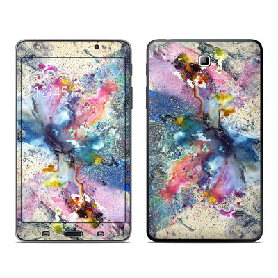 Samsung Galaxy Tab 4 7in Skin - Cosmic Flower