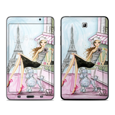 Samsung Galaxy Tab 4 7in Skin - Cafe Paris