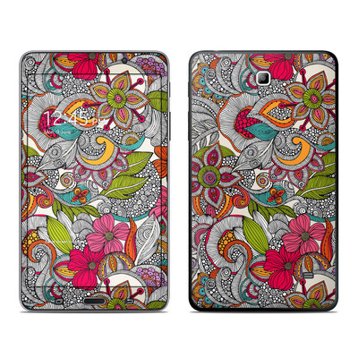 Samsung Galaxy Tab 4 7in Skin - Doodles Color