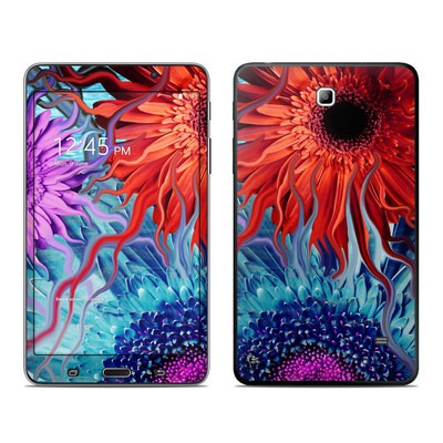 Samsung Galaxy Tab 4 7in Skin - Deep Water Daisy Dance