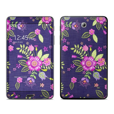 Samsung Galaxy Tab 4 7in Skin - Folk Floral