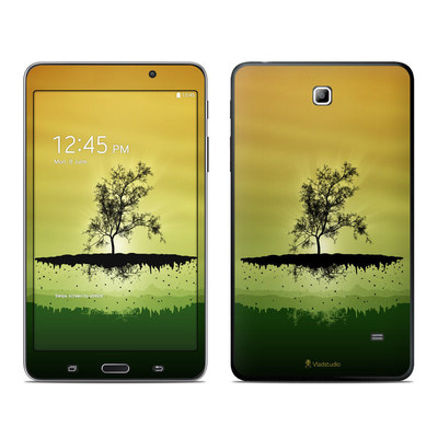 Samsung Galaxy Tab 4 7in Skin - Flying Tree Amber
