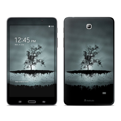 Samsung Galaxy Tab 4 7in Skin - Flying Tree Black