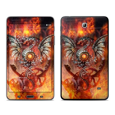 Samsung Galaxy Tab 4 7in Skin - Furnace Dragon