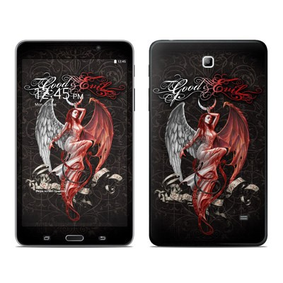 Samsung Galaxy Tab 4 7in Skin - Good and Evil