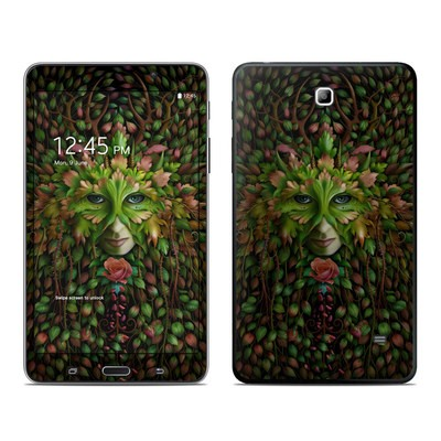 Samsung Galaxy Tab 4 7in Skin - Green Woman