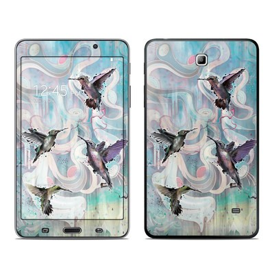 Samsung Galaxy Tab 4 7in Skin - Hummingbirds