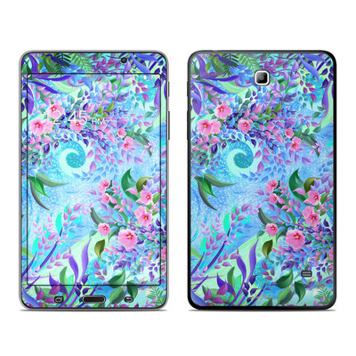 Samsung Galaxy Tab 4 7in Skin - Lavender Flowers